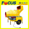 350L Jzc350 Small Diesel Concrete Mixer with Skip Bucket