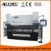 Accurl 6 Axis Hydraulic CNC Press Brake MB8-100tx3200 with Delem Da66t CNC Crowning System