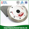 "4"" 6"" 7"" Vacuum Brazed Diamond Saw Blade with Flange"