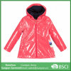 Wholesales Girls Pink Hooded Raincoat