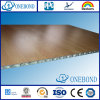 Wood Grain Aluminum Honeycomb Panel for Exterior Use