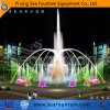 Round Shape Outdoor Dry Floor Multimedia Music Fountain