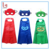 Children′s Birthday Party Cosplay Cape + Mask Catboy Owlette Gekko