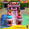 Guangzhou Cheap Factory Candy Commercial Inflatable Bouncer Slide for Child (AQ01756)
