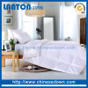 White Color Polyester Bedding Set Quilted Quilt