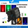 New Morden 12PCS LED Wireless Battery Flat PAR DJ Light