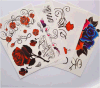 Large Body Art Flowers Temporary Tattoo Sticker Art Tattoo Sticker