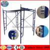 Best Quality Pre-Galvanized Walk Through H Frame Scaffolding