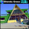 20mm 18900tuft Density Green Fake Grass for Building Decoration