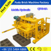 Qt40-3A Movable Hydroforming Concrete Hollow Block Molding Machine in Ghana