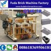 Hydraulic Qt40-3A Mobile Solid Brick Making Machine/Hydraulic Block Forming Machine