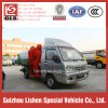 3 Cbm Side Loading and Un-Loading Crane Bucket Garbage Truck Mini Rubbish Vehicle