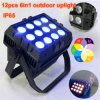 12X15W RGB/ RGBW LED PAR Light Waterproof IP65 DMX-512 DJ Outdoor LED Stage Light