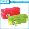 Double-Deck Japanese Style Plastic Lunch Box