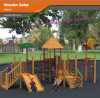 Kaiqi Medium Sized Wooden Playground Equipment for Children - Perfect for Natural Playgrounds (KQ10155A)