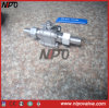 Thread Ball Valve with Extended Body
