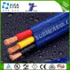 3/4 Cores Epr Flat Jacketed Submersible Pump Cables Without/with Ground