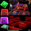 Disco Stage Thin Mirror Portable LED Dance Floor