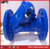 API 6D Cast Iron Flanged Y Strainer