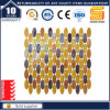 Oval Glass Mosaic Tile, Luster Rainbow Glass Mosaic Kse9316