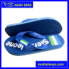 Outdoor PE Slipper with Color Line for Man (T1505-Blue)