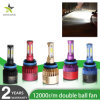 Colorful Double Fan S2 H4 Car Lights LED Headlight H11 H7