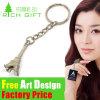 Custom High Quality Metal/Zinc Alloy Eiffel Tower Keyring