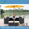 Table and Chairs in Aluminum Garden Dining Set
