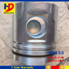 Excavator Diesel Engine Parts 6D155 Piston with Pin OEM (6128-31-2140)