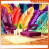 Colorful Feather 3D Oil Painting for Decorative Living Room
