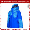 Waterproof Blue Windbreaker Ski Jacket Thermal Winter Coat (ELTSNBJI-56)