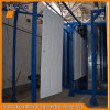 Tunnel Powder Coating Oven Warm up to 400F with Conveyor for Metal Door