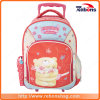 Super Cute Bear Allover Printing Trolley School Bags for Student
