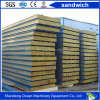 PU Sandwich Panel Polyurethanes Insulated Sandwich Panel Rock Wool Panel