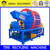 Xinda Whole Tire Shredder Waste Tire Recycling Plant Crusher Machine
