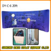 20FT Curvy Tension Fabric Pop up Display for Exhibition (DY-C-6)