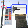 Metal Street Light Pole Advertising Sign Hanger (BT-BS-047)