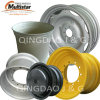 Agro-Industrial Steel Wheel Rim Dw15X24, Dw16X24, 18X11.00 for Backhoe