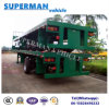 Two Axle 40FT Container Transport Flatbed Cargo Semi Trailer