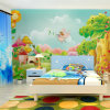 Eco-Friendly Beautiful Home Interior Decoration Colorful Girls Bedroom Wallpaper