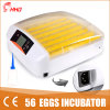 Hhd LED Light Automatic Mini Chicken Incubator for 56 Eggs