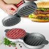 Die Cast Aluminum Double Hamburger Press