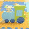 Interlocking EVA Alphabet Tiles, EVA Floor Mat