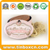 Festival Metal Packaging Box Oval Soap Tins for Wedding Gifts