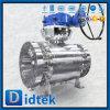 Didtek V Port CF8 Ball Valve 4 Inch