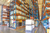 Warehouse Storage Very Narrow Aisle Racking