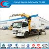 Foton 4X2 Used Crane Truck for Sale