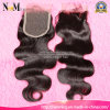Free Part Middle Part Three Part Brazilian Virgin Hair Closure Piece