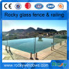 Rocky Mini Post Swimming Pool Frameless Glass Fence