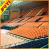 China CE Electrical Indoor Sporting Retractable Grandstand Chairs with Hardwood Armrest Wholesale Telescopic Tribune